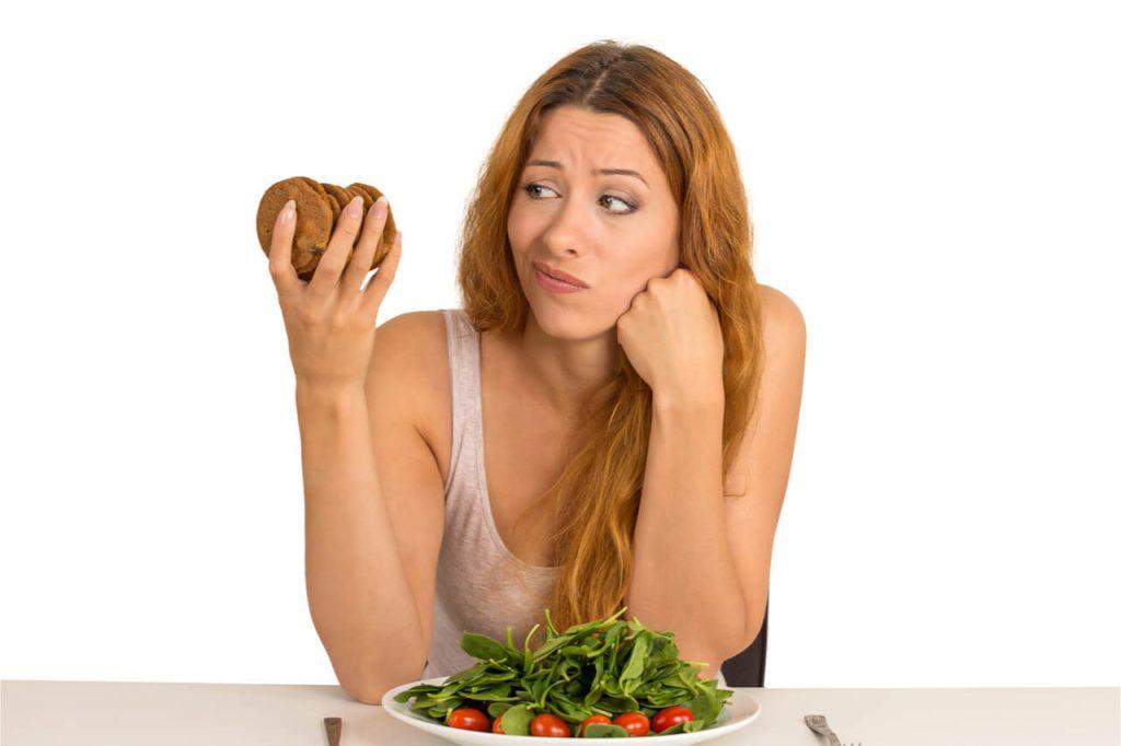 woman in diet